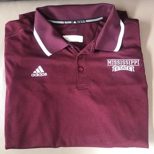 Adidas Mississippi State Polo